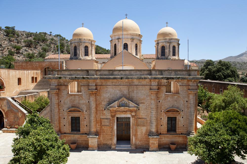 Agia Triada (Holy Trinity) Monastery - Orthodox Crete